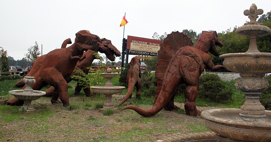 Spanish Town Dinosaurs