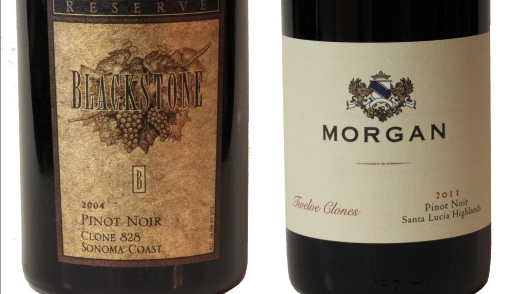 Morgan Pinot, Blackstone Pinot, pinot clone 828