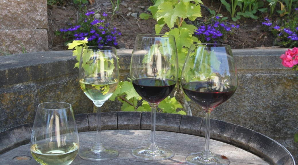 Reidel wine glasses