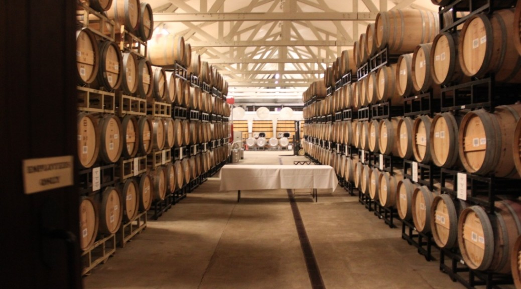 Merryvale barrel room