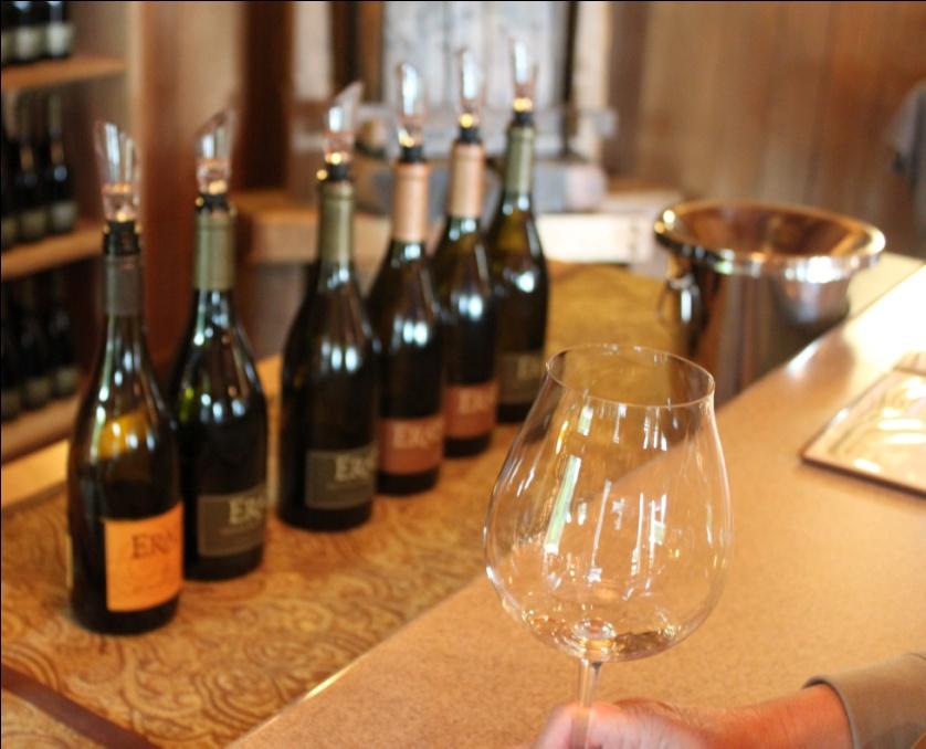 Erath Wine Tasting Room
