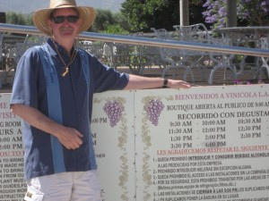 Jeff Kordik, LA Cetto winery Mexico