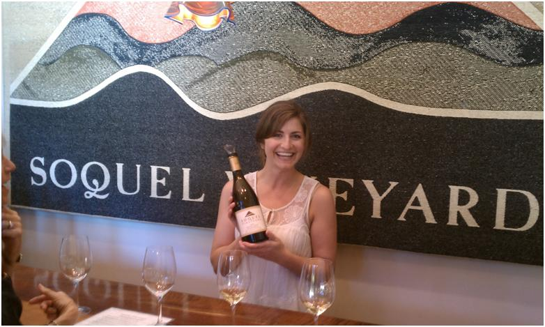 Soquel Vineyards Winemaker Olivia Tuetschel